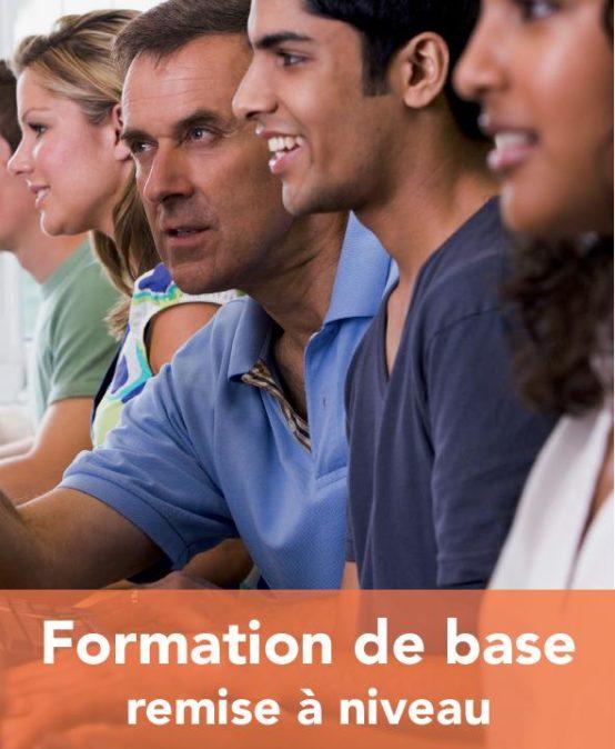 FORMATION DE BASE – REMISE À NIVEAU
