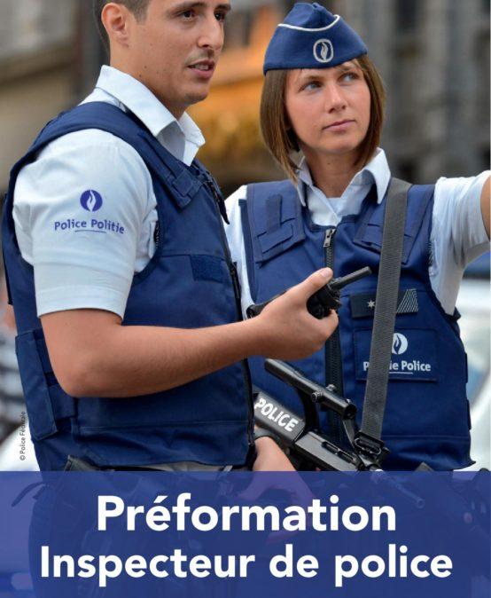 PRÉFORMATION INSPECTEUR DE POLICE
